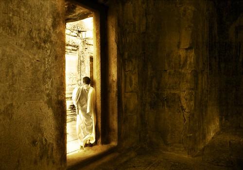 Meditation Chamber -- angkor cambodia wat details light work angkorwat hdr ratcliff vishnu angle hindu