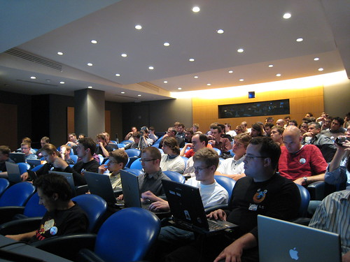 Mozilla developers attending the Dev Day in Paris
