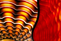 Chihuly Still (Creativity+ Timothy K Hamilton) Tags: light orange chihuly art garden botanical one waves 500v20f shot bright dale artistic missouri transparency scallop stl hdr glasss climatron scalloped mobot timothykhamilton oneshothdr sav1del10