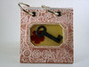 Pink Key Polymer Clay Notepad