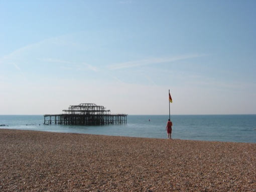 The inevitable photo of west pier