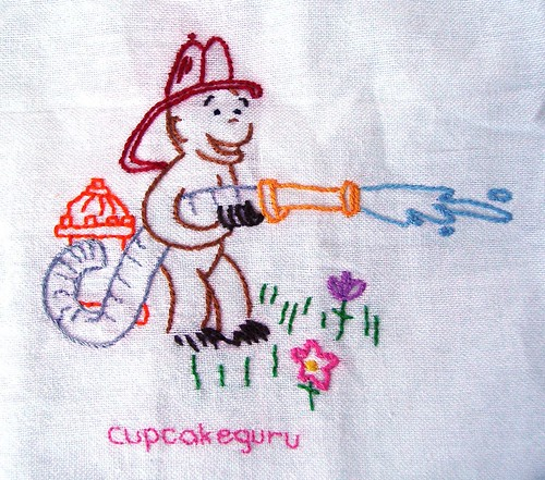 Tea Towel Curious George