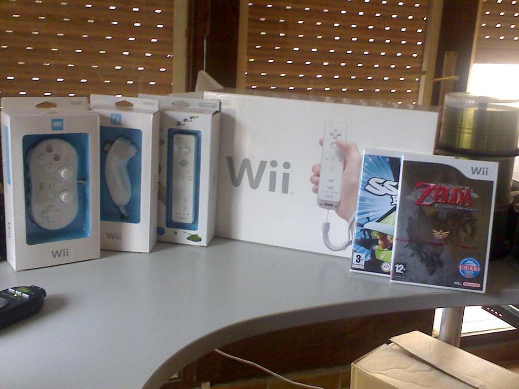 Wii (blanca, ho sé)