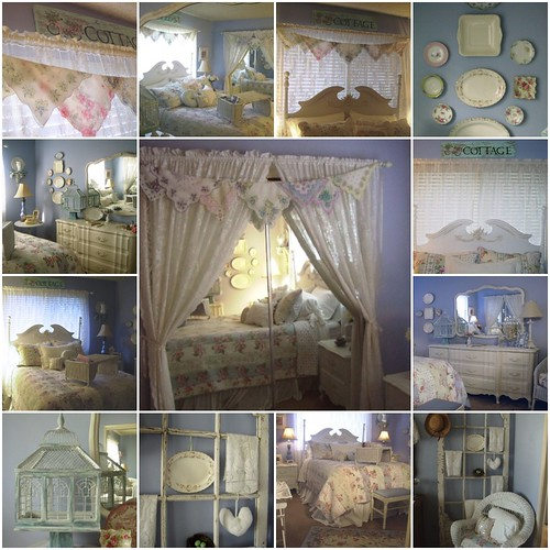 Romantic Homes Decorating: My Romantic Home: My Cottage Style Bedroom