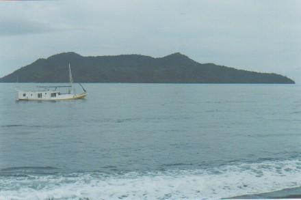 Satonda sungken volcano Island