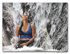 vila spa (ruurmo) Tags: people woman fall nature water lady relax mujer agua gente venezuela babe ruurmo caracas spa refresh casacada quebradaquintero artlibre