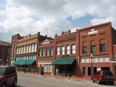 Guthrie Historical District Downtown