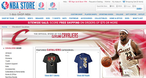 Cavs Store