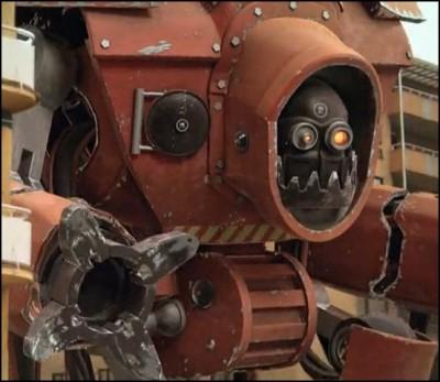 mega robot 400x347