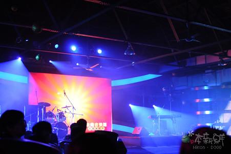 金曲音樂會,舞台