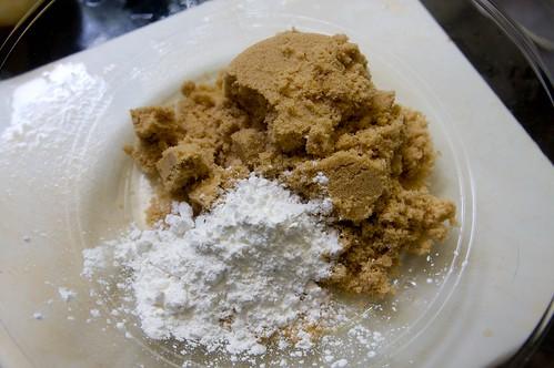brown sugar & cornstarch