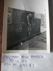 Mick Farrell, Fireman, Stamford