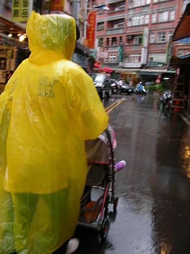 匆匆淡水行 -破雨衣