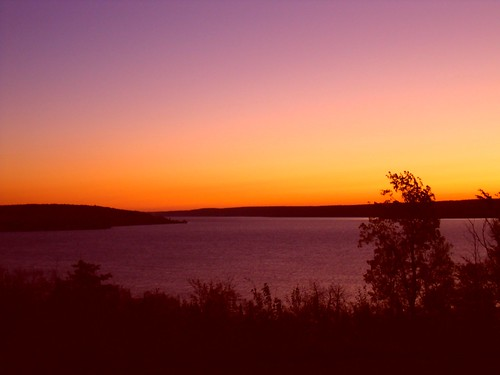 Sunset Over Munising