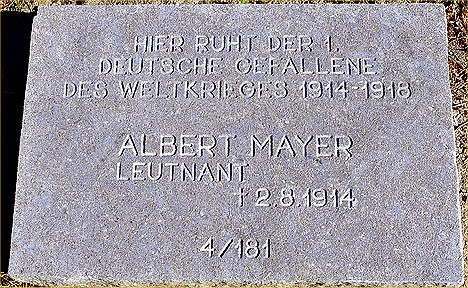 Mayer grave - Illfurth
