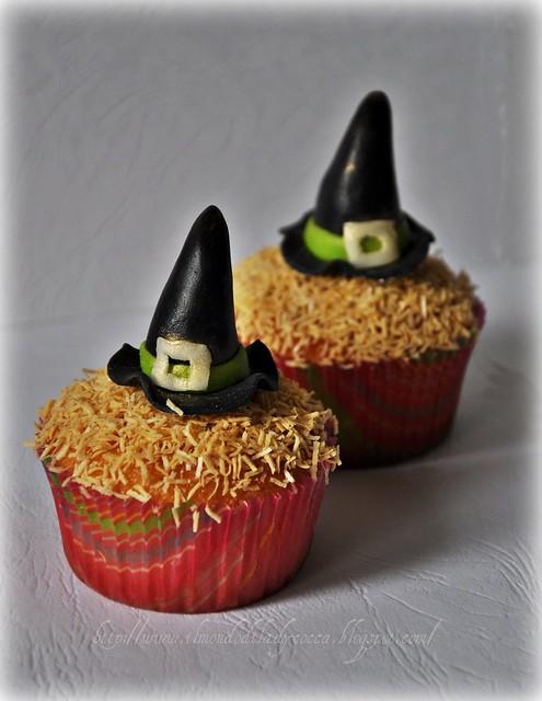 cupcake per Halloween... Cappelli di Strega