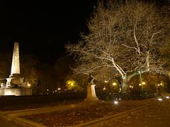 Eminescu Tree and Obelisk -- PA281185