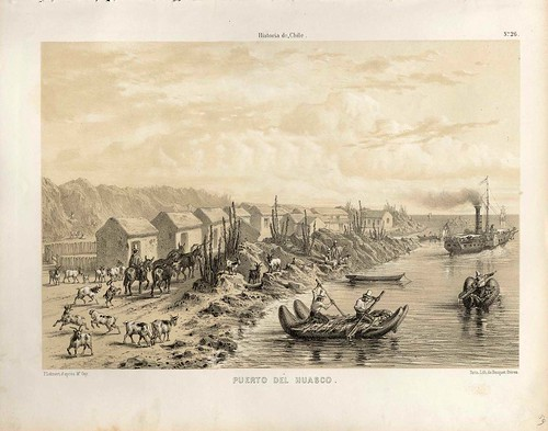 026-Puerto de Huasco-Atlas de la historia física y política de Chile-1854-Claudio Gay