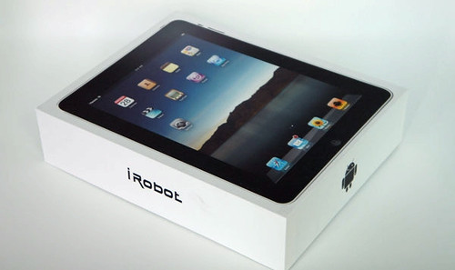 iRobot tablet