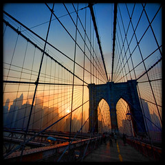 Brooklyn Bridge Sunset  [159/365] - by Lab2112