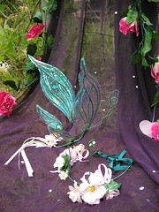 Fairy wings (Snow Dragon) Tags: costumes fairy faery crown iridescent apsara tiaras fairie snowdragon fairywings faerywings flowercrown boutiqe fairiewings iridescentwings apsaraboutique flowertiara fairytiara faerytiara fairietiara