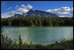 Johnson Lake and Mount Rundle (USC_1478) (dutch_loon) Tags: lake canada nationalpark alberta banff mountrundle banffnationalpark canadianrockies johnsonlake