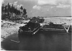 Wrecked LVTs I - Tarawa (afigallo) Tags: war pacific wwii amtrak ww2 marines engineers tarawa lvt betio