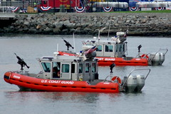 2007 MLB Baseball All-Star Game San Francisco - U.S. Coast Guard Security in McCovey Cove (Al_HikesAZ) Tags: sanfrancisco park coastguard game coast major us unitedstates baseball cove united guard security explore transportation states allstar att league 2007 mccovey mlb mccoveycove uscoastguard  majorleaguebaseball literaryreference sf2007 2007allstargame alhikesaz