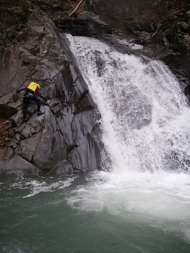 Canyoning in Hakuba