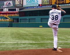 One-Legged Pitcher (Barefoot In Florida) Tags: baseball devilrays sonnanstine