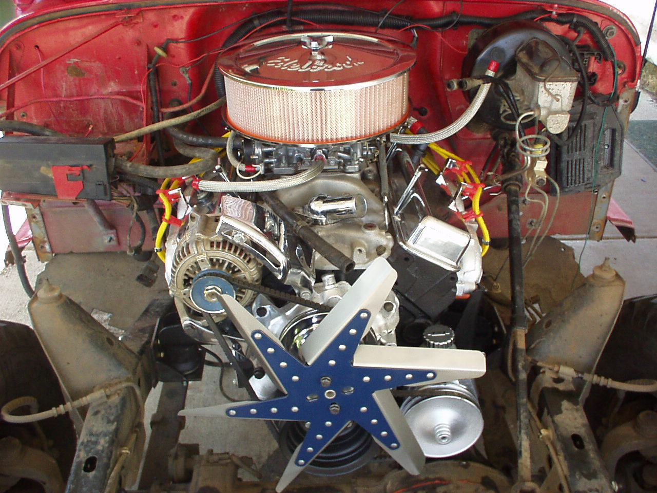 Jeep yj v8 conversion