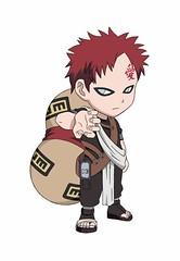 Gaara SD (klingsi20) Tags: anime sand desert evil naruto suna gaara gakure