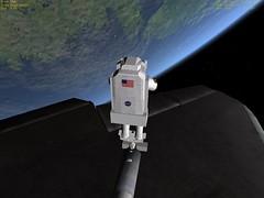 STS-118 TPS Repair Sim #2