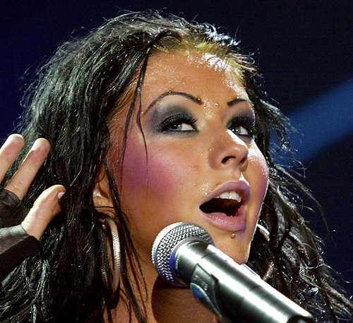 Christina Aguilera sweaty | Flickr - Photo Sharing!