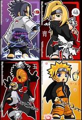 1027628348 (misao_katsuragi) Tags: chibi naruto sasuke suna gaara akatsuki