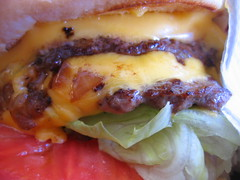 Double Double Animal Style (shalawesome) Tags: california food macro lunch burger tasty delicious mmm socal cheeseburger hungry southerncalifornia doubledouble innout ino animalstyle