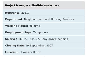 Flexible Workspace Coordinator