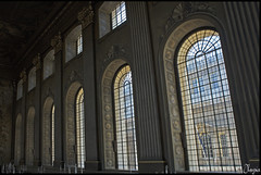 Arches (Haysie1) Tags: london window arch painted greenwich chapel arches trompeloeil paintedhall oldroyalnavalcollege