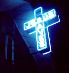 JesusSaves (MindsiMedia 2012) Tags: neon lasvegas coloredlights neonsigns