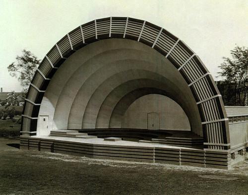 Humboldt band shell 1932