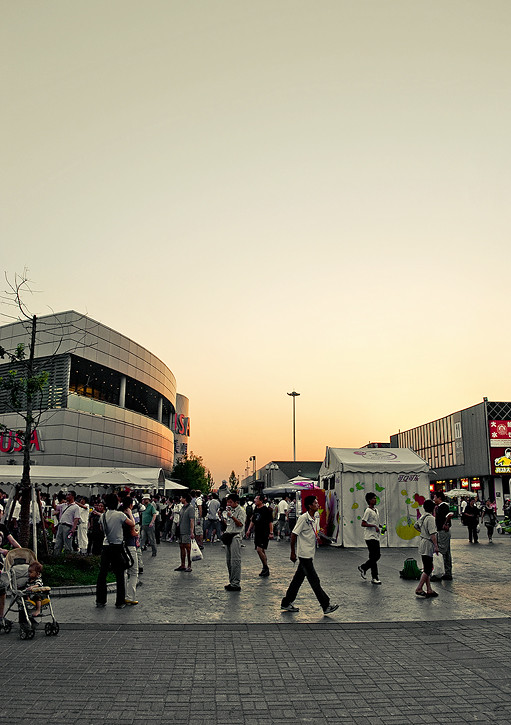 EXPO 2010; Sundown