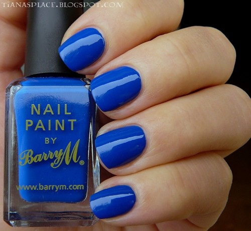 Barry M - Cobalt Blue #3
