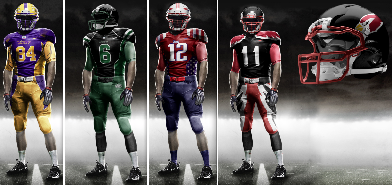 New nfl uniformsNew Nfl Uniforms
