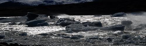 El gélido y huracanado viento del Fjallsárlón. Por Islandia (13)