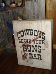 Cowboys: Leave your guns at the bar