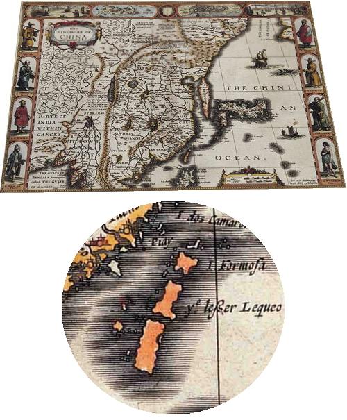 無限台南 - 台灣古地圖1626年