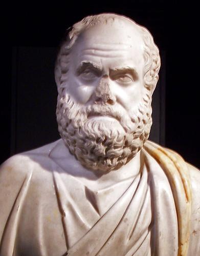 Sòcrates (bust grec) by Sebastià Giralt.