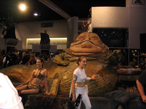 princess leia jabba hutt. Jabba the Hutt with Princess