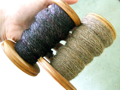 First plied yarns