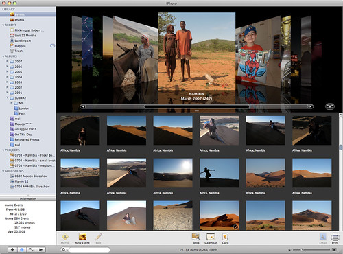 What iPhoto's Events new functionality should look like